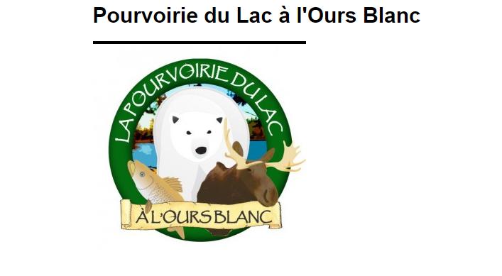 Pourvoirie du Lac à l'Ours Blanc