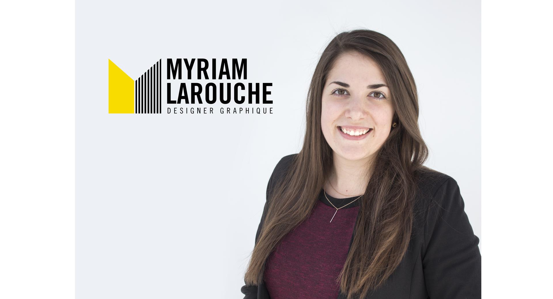 Myriam Larouche, designer graphique