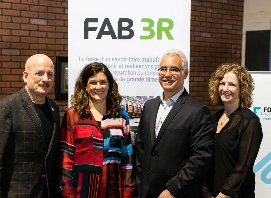 FAB 3R est désormais une entreprise 100 % trifluvienne