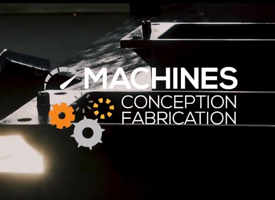 Présentation du Créneau Conception et fabrication de machines